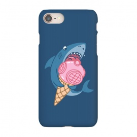 iPhone 7  SHARK AND ICE CREAM by Alexander Medvedev