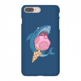 iPhone 8/7 plus  SHARK AND ICE CREAM by Alexander Medvedev