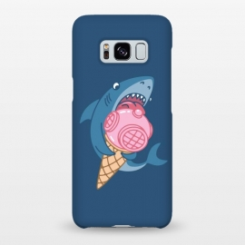 Galaxy S8+  SHARK AND ICE CREAM by Alexander Medvedev