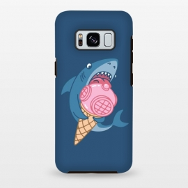 Galaxy S8 plus  SHARK AND ICE CREAM by