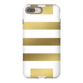 Gold Stripes by Caitlin Workman (Greek, Gold, Metallic, Stripes, Bold, minimal, modern, bold, fashion, style)