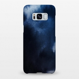 Galaxy S8+  Watercolor Blue by Caitlin Workman