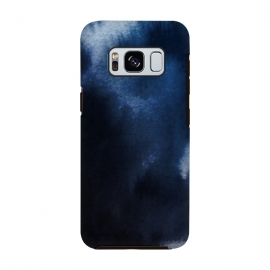 Galaxy S8  Watercolor Blue by Caitlin Workman