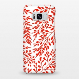 Galaxy S8+  Foliage Red by Caitlin Workman