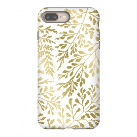 Foliage Gold by Caitlin Workman (Foliage,ferns, leaves, nature, fold, metallic, style, fashion)