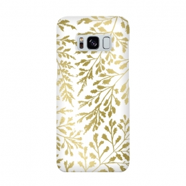Galaxy S8  Foliage Gold by Caitlin Workman