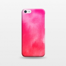 iPhone 5C  Watercolor Pink by Caitlin Workman