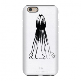iPhone 6/6s  Little Black Halter Dress by Caitlin Workman