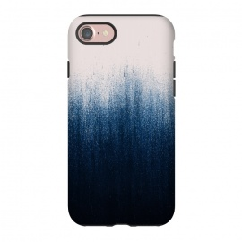iPhone 8/7  Jean Ombre by Caitlin Workman (Ombre, pattern, color, blue, pink, modern, abstract, denim, bold, chic)