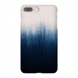 Jean Ombre by Caitlin Workman (Ombre, pattern, color, blue, pink, modern, abstract, denim, bold, chic)
