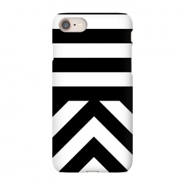 iPhone 8/7  Black Stripes by Caitlin Workman