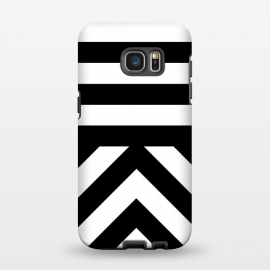 Galaxy S7 EDGE  Black Stripes by Caitlin Workman