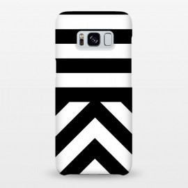 Galaxy S8+  Black Stripes by Caitlin Workman
