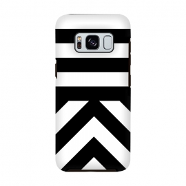 Galaxy S8  Black Stripes by Caitlin Workman