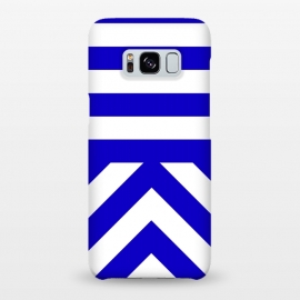 Galaxy S8+  Blue Stripes by Caitlin Workman