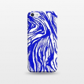 iPhone 5C  Marble Royal by Caitlin Workman