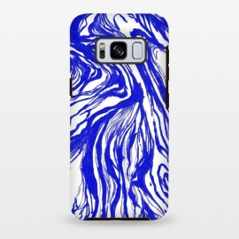 Galaxy S8+  Marble Royal by Caitlin Workman