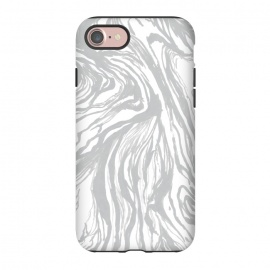 iPhone 8/7  Gray Marble by Caitlin Workman