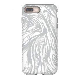 iPhone 8/7 plus  Gray Marble by Caitlin Workman