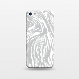 iPhone 5C  Gray Marble by Caitlin Workman
