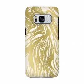 Galaxy S8  Gold Marble by Caitlin Workman