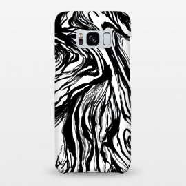Galaxy S8+  Black Marble by Caitlin Workman