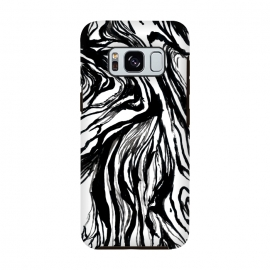 Galaxy S8  Black Marble by Caitlin Workman