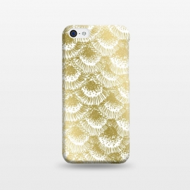 iPhone 5C  Organic Burst Gold by Caitlin Workman