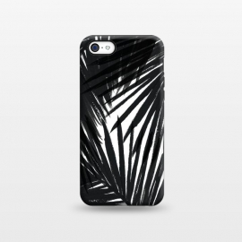 iPhone 5C  Black Palms by Caitlin Workman