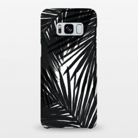 Galaxy S8+  Black Palms by Caitlin Workman
