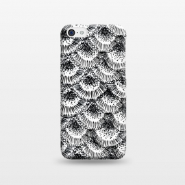 iPhone 5C  Organic Burst Black by Caitlin Workman