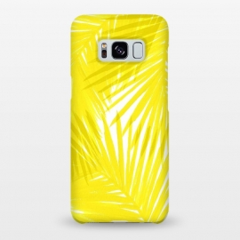 Galaxy S8+  Yellow Palms by Caitlin Workman