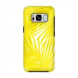 Galaxy S8  Yellow Palms by Caitlin Workman
