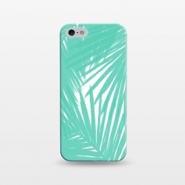 iPhone 5/5E/5s  Palms Teal by Caitlin Workman