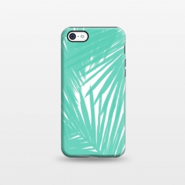 iPhone 5C  Palms Teal by Caitlin Workman