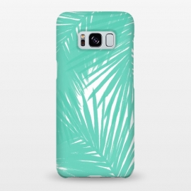 Galaxy S8+  Palms Teal by Caitlin Workman