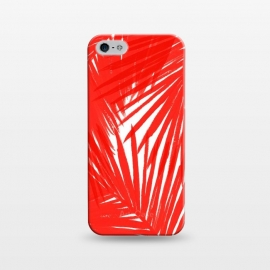 iPhone 5/5E/5s  Red Palms by Caitlin Workman