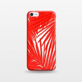iPhone 5C  Red Palms by Caitlin Workman