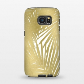Galaxy S7  Gold Palms by Caitlin Workman