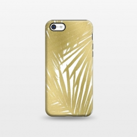 iPhone 5C  Gold Palms by Caitlin Workman