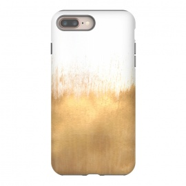iPhone 8/7 plus  Brushed Gold by Caitlin Workman