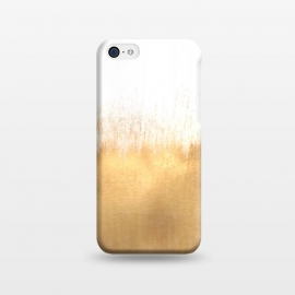 iPhone 5C  Brushed Gold by Caitlin Workman