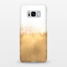Galaxy S8+  Brushed Gold by Caitlin Workman