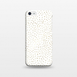 iPhone 5C  Dotted Gold by Caitlin Workman