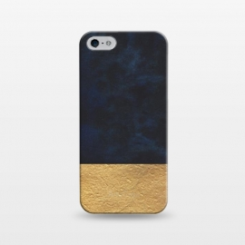 iPhone 5/5E/5s  Velvet and Gold by Caitlin Workman