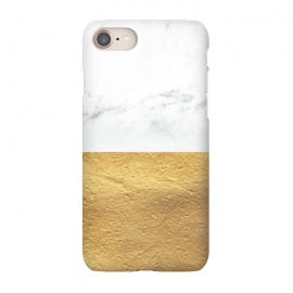 iPhone 8/7  Marble and Gold by Caitlin Workman