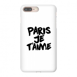 iPhone 8/7 plus  Paris, Je t'aime by Mitxel Gonzalez (paris,love,amour,france,fashion)