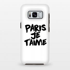 Galaxy S8 plus  Paris, Je t'aime by  (paris,love,amour,france,fashion)