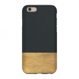 iPhone 6/6s  Leather and Gold by Caitlin Workman
