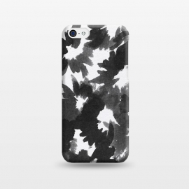 iPhone 5C  Black Floral by Caitlin Workman